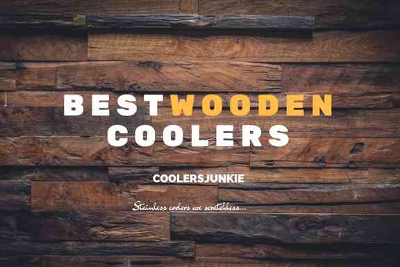 wooden coolers