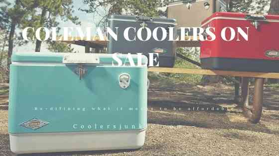 Coleman coolers review